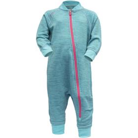 Devold Nibba Combinaison De Jeu Enfants en bas âge, turquoise